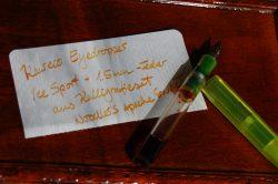 Kaweco ICE Sport mit Kalligrafiefeder