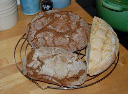 dreierlei Brote