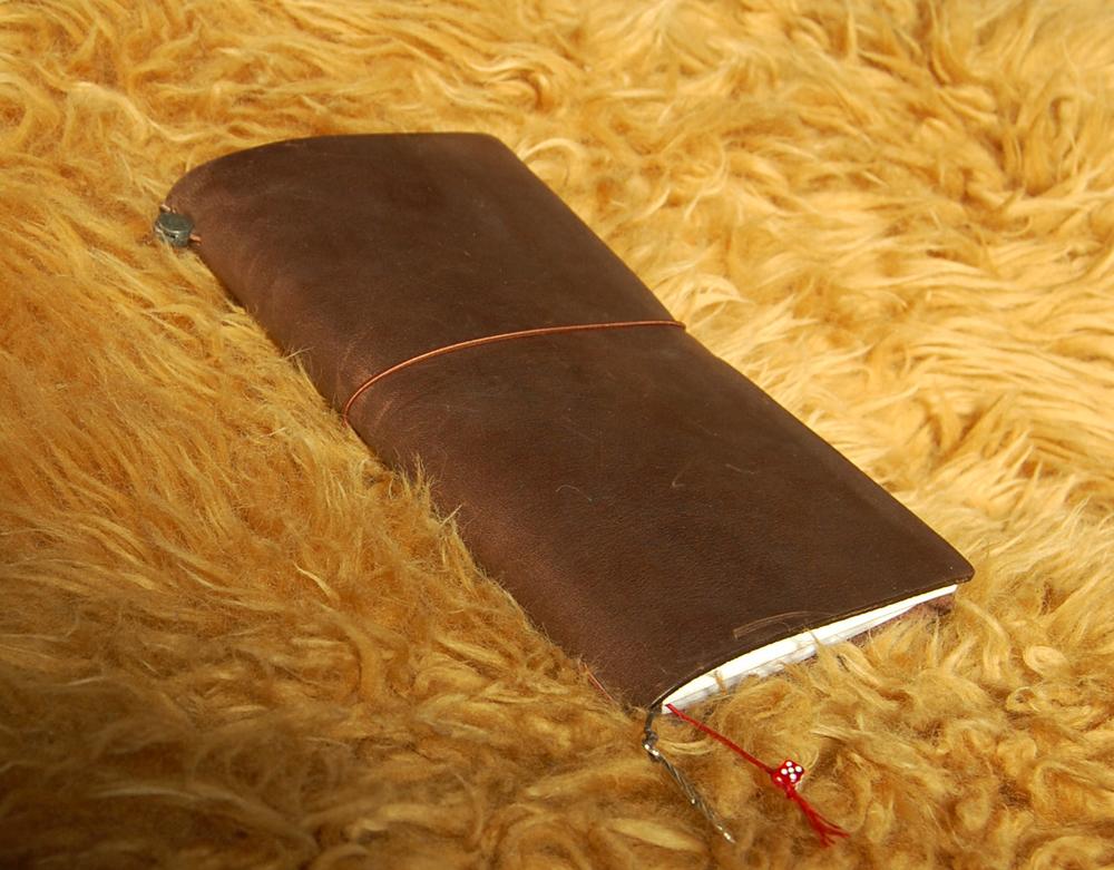 Midori Traveler's Notebook (braun)