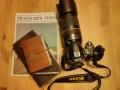 "Nikon D40, Midori Traveler's Notebook (braun) & Limited ""Traveler's Star Edition"""