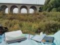 unterwegs mit dem Midori Traveler's Notebook (braun)