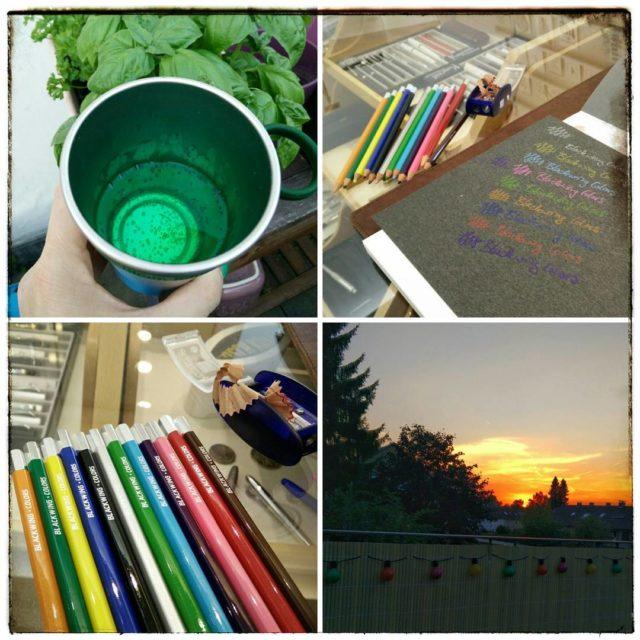 Farbenfroher Abend Erst Blackwing Colors bei brevimanuinc testen dann Balkonienhellip