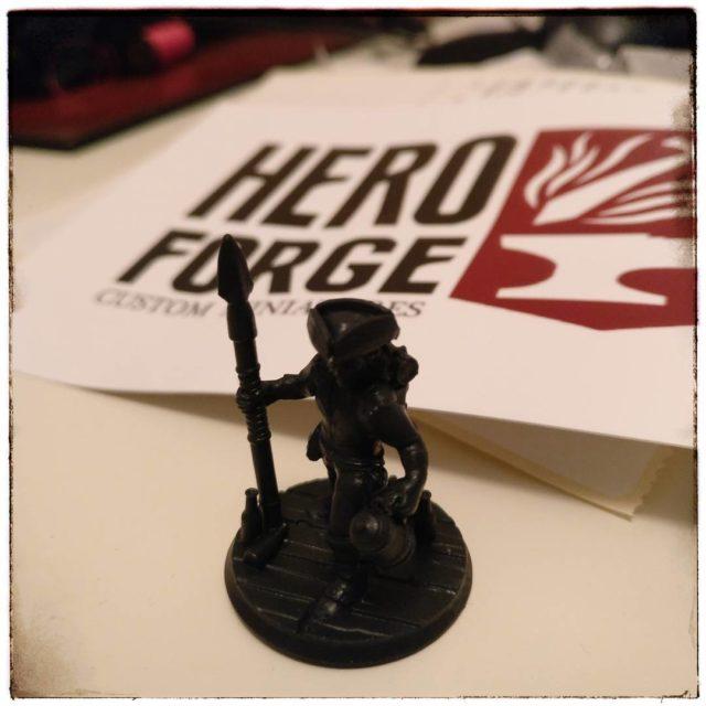 Nach nur einer Woche! kam meine Miniatur von heroforgeminis anhellip